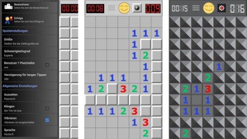 Jetzt sichern: Minesweeper Pro für Android gratis