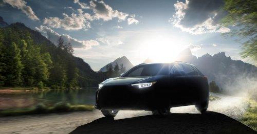 Jetzt auch Subaru: Solterra soll das erste E-Auto des Unternehmens werden