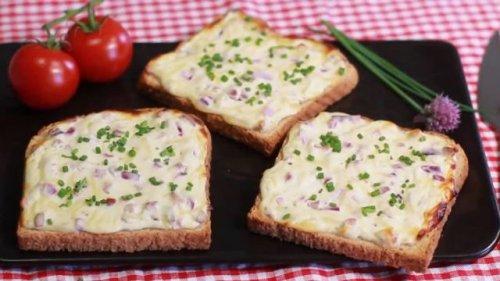 Toast statt Flammkuchen: Schnelles Rezept für Elsass-Klassiker begeistert