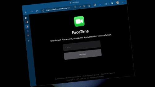 FaceTime für alle: Endlich Apple-Videochat unter Android und Windows nutzen