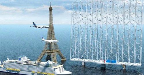 Windenergie auf dem Meer: Diese Erfindung ist 5-Mal effizienter als ein Windrad