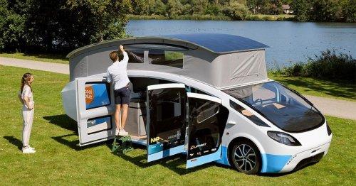 Leben & fahren im Solarwohnwagen: Mit ihm müssen Sie nie wieder an einen Stecker