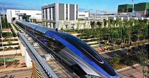 Top-Speed wie ein Flieger: Chinas neuer Transrapid knackt die 600 km/h