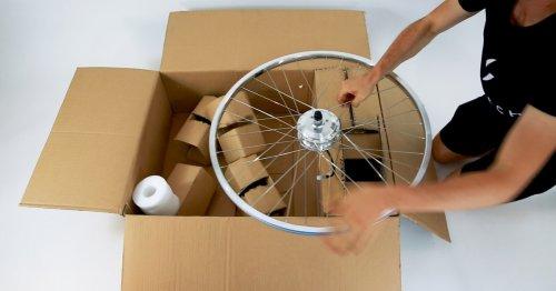 E-Bike-Umbaukit für Ungeschickte: Hier ist der Motor schon im Vorderrad drin