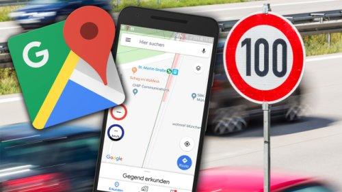 Tempolimit in Google Maps anzeigen: So rüstest du das Tacho-Feature ganz einfach nach