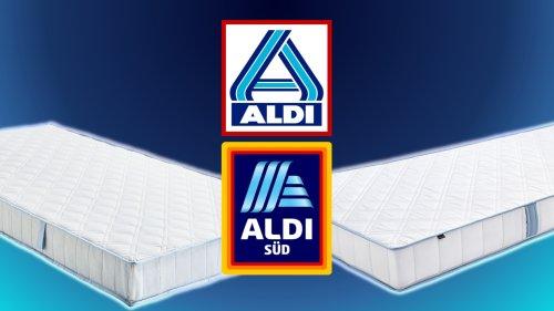 Schlafkomfort für 70 Euro: Matratzendeals bei Aldi