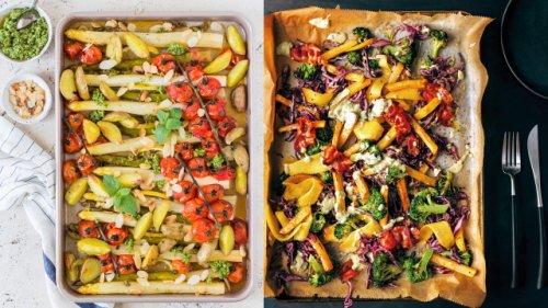 Alle Zutaten auf einen Schlag: So kochen Sie leckere One-Tray-Gerichte