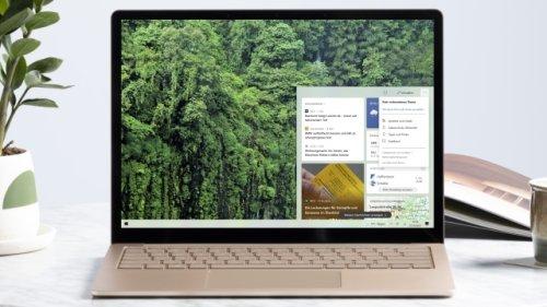 Windows-10-Taskleiste runderneuert: Microsoft bringt neue Features