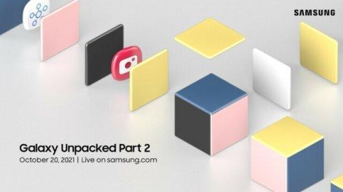 Samsung stellt am Mittwoch neue Geräte vor: Galaxy S21 FE und Galaxy Tab S8 in der Pipeline?