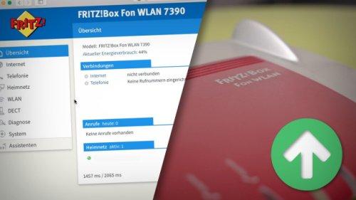 Neues FritzBox-Update: Weiterer Router erhält aktuelle Version