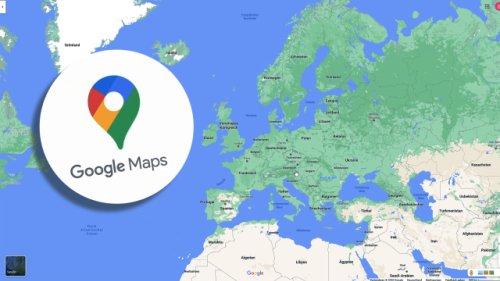 Schwarzes Loch bei Google Maps: Was es mit dem seltsamen Bild auf sich hat