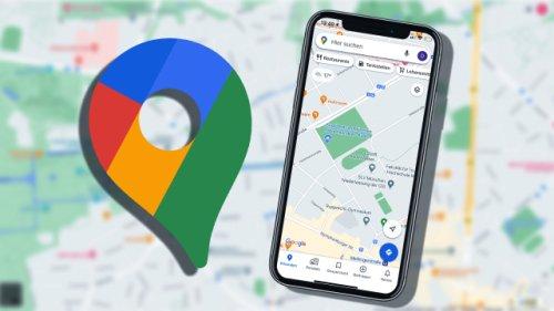 Google Maps mit praktischer Funktion: So finden Sie immer einen Parkplatz