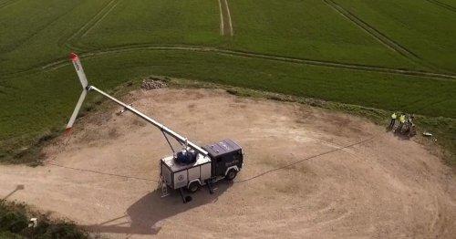 Mobile Kite-Drache erzeugt Strom: Ausbeute doppelt so hoch wie beim Windrad