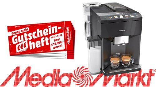 Siemens Kaffeevollautomat zum Sparpreis: Starke Aktion bei Media Markt