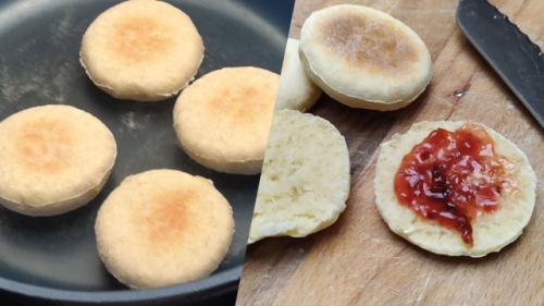 Blitzschnelle Pfannenbrötchen: So backen Sie frische Brötchen ohne Ofen