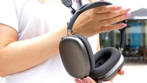 Der beste Sound im Test, aber: Die Apple Airpods Max kosten Haus und Hof