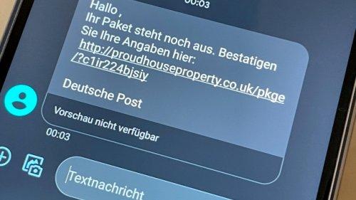 Abzocke per SMS: So schützen Sie sich vor der Betrugswelle