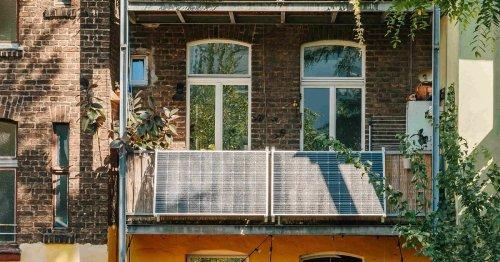 Mieter wird es freuen: So kann wirklich jeder Solarstrom erzeugen