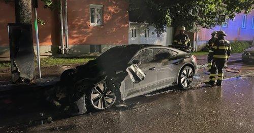 Luxus-Audi e-Tron gerät in Brand: Was stimmte bei dem 4 Wochen alten Auto nicht?