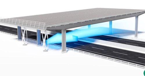Super Erfindung kombiniert Solar und Windkraft: Hier stört auch nicht der Krach