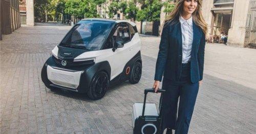 Das praktischste E-Auto ever kommt: Seinen Akku nehmen Sie zum Laden einfach mit