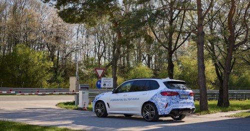 Wasserstoff-BMW wird konkret: Erste Prototypen des iHydrogen Next auf der Straße