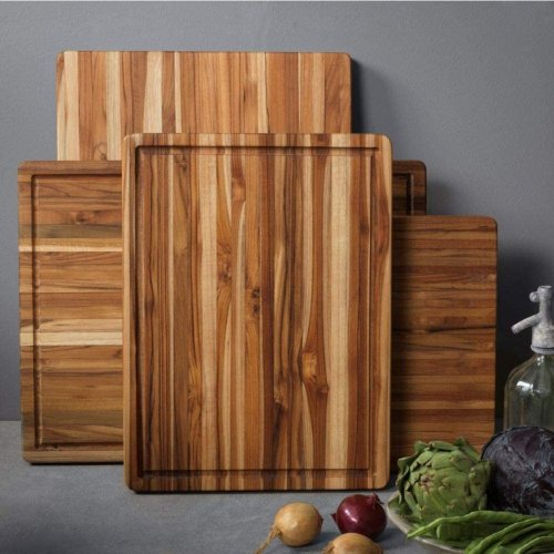 The Best Tool to Clean a Wood Cutting Board Is Probably in Your Compost Bin