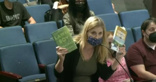 Mom blasts school board for allowing books promoting pedophilia to be accessible to students