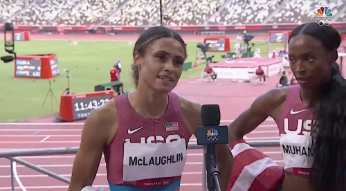 Olympian Sydney McLaughlin engaged; couple vows to love one another as 'Christ loved the Church'