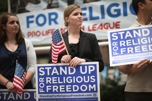 82% of Americans say religious freedom is key to 'healthy American society': poll