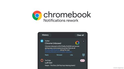 Chromebook notifications to be reworked with intelligent grouping and new UI