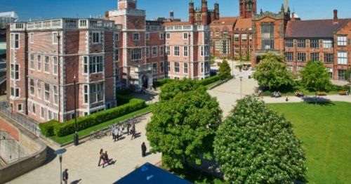 Newcastle University rated one of UK's healthiest in report