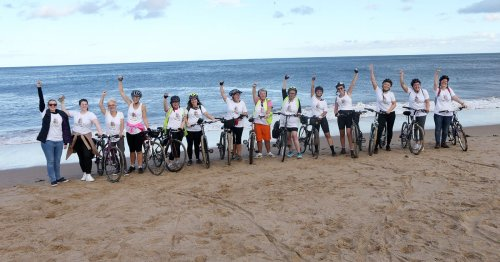 Forty women complete the last leg of their #PeddleAgainstPatriarchy journey