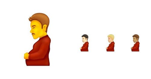 Pregnant man emoji latest to be released on iphone and android