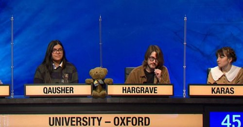 Oxford students in Newcastle blunder on University Challenge