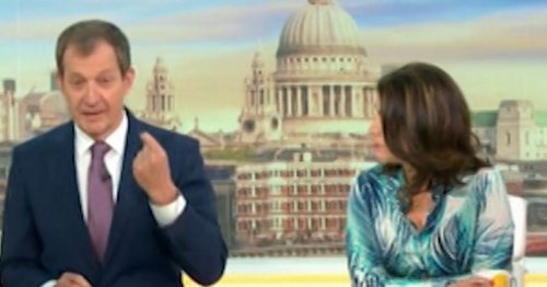 Piers Morgan's savage response to Alastair Campbell after Queen death gaffe