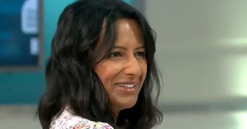 GMB's Ranvir Singh startled on air by urgent phone call from home
