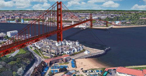 Two spectacular River Tyne bridges that were proposed but never came to fruition