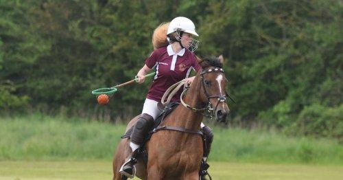 Newcastle schoolgirl to represent England on Prince Harry's horse