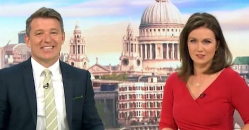 Ben Shephard steps in after GMB viewer comments about Susanna Reid