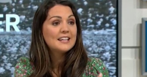 GMB's Laura Tobin unable to lift her 'weather arm' after vaccine