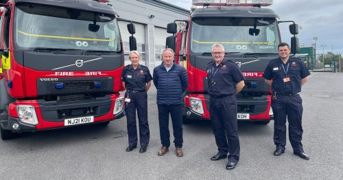 'State of the art' fire engines arrive in Northumberland