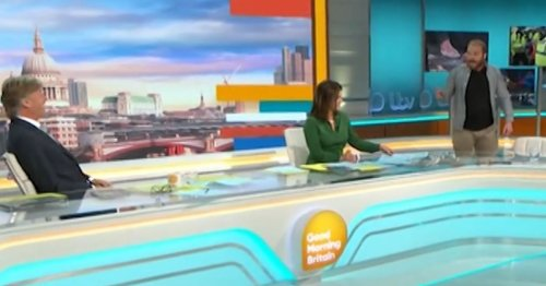 Lorraine steps in over Insulate Britain protester storming off ITV GMB