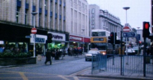 Step back to bustling Newcastle city centre in 1984 in our nostalgic video clip