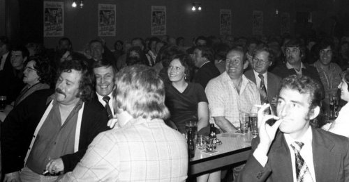 A night out at a Newcastle social club in the '70s