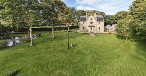 Take a look around this £1.2m County Durham country house with its own duck pond