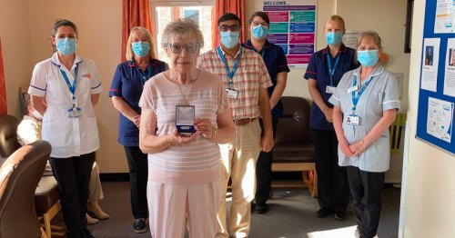 Medal for South Shields nurse marking 60 years living with diabetes