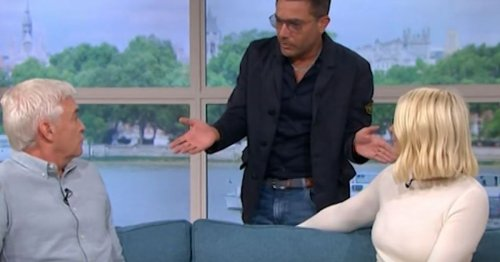 Gino left ranting at Holly and Phillip on This Morning return