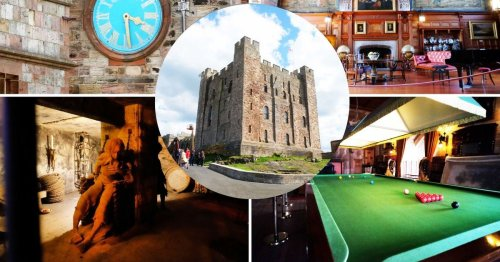 Inside Bamburgh Castle: once again open to visitors after Indiana Jones filming