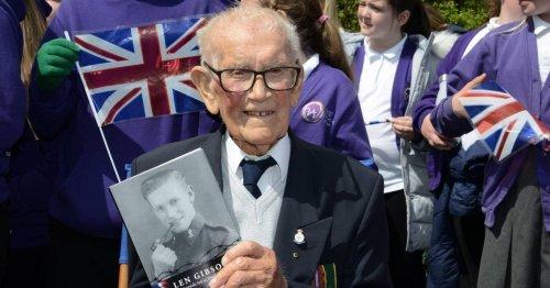 Sunderland prisoner of war veteran Len Gibson dies aged 101